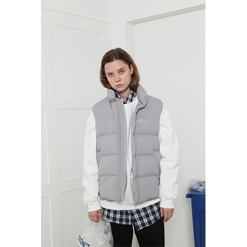 로너 LONER Recycle vest-gray