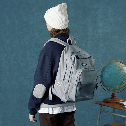 앤커버 NCOVER Authentic backpack-gray 백팩 그래이