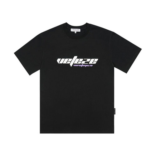 VETEZE 베테제 True Up Half T-Shirt (Black)