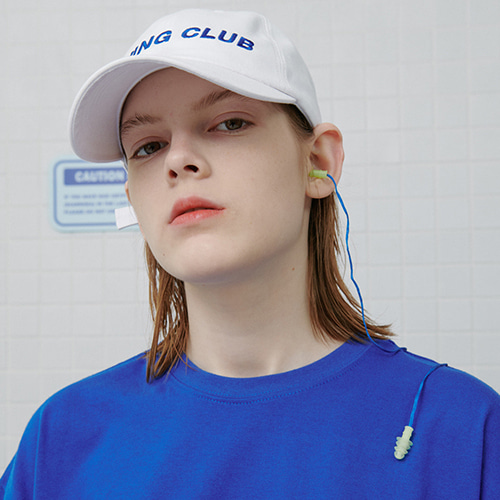 로너 LONER Diving club cap-white